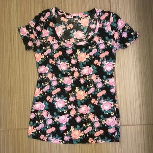 Floral T-shirt, size small, Urban Outfitters